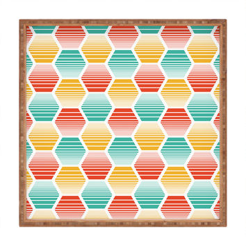 Heather Dutton Honey Jive Summerlicious Square Tray