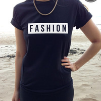 FASHION t-shirt top retro print