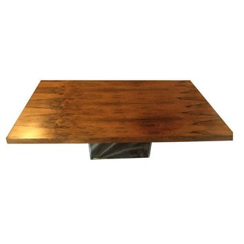 Pre-owned Milo Baughman Mid-Century Rosewood Coffee Table