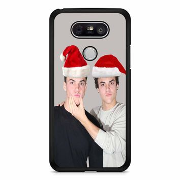 Dolan Twins Wearing Santa Hat LG G5 Case