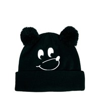 Lazy Oaf Bear Bobble Hat at asos.com