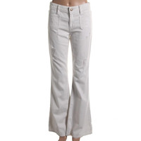 Guess Jeans Womens Denim Destroyed Flare Jeans