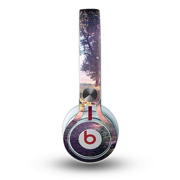 The Vivid Colored Forrest Scene Skin for the Beats by Dre Mixr Headphones