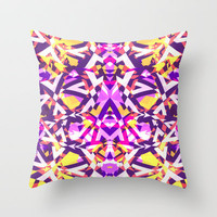 Mix #305 Throw Pillow by Ornaart