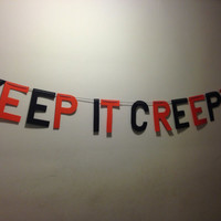 SALE -- Keep It Creepy Banner
