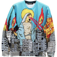 Mother Teresa Fire Crewneck