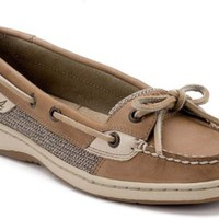 Sperry Top-Sider Angelfish Slip-On Boat Shoe LinenOat, Size 7M  Women's Shoes
