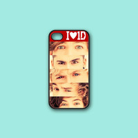 I Love One Direction 1D Eye - Print on hard cover for iPhone case and Samsung Galaxy case