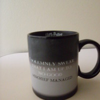 Harry Potter I Solemnly Swear...Mischief Managed Transforming Mug