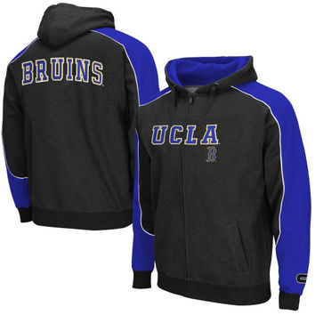 UCLA Bruins Thriller Full Zip Hoodie – Black