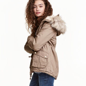 00301cb408e Pile-lined Parka - from H&M