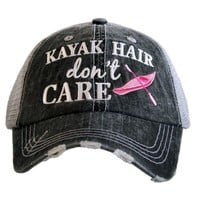 """Kayak Hair Don't Care"" Trucker Hat"