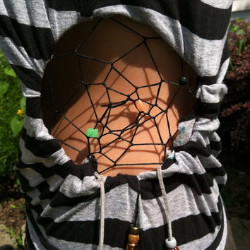 Side Dreamcatcher shirt by Handspunhomegoods on Etsy