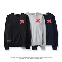 Cotton Long Sleeve Couple Hoodies [47755264012]