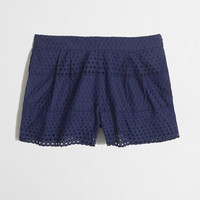 Factory scalloped eyelet short - Shorts - FactoryWomen's New Arrivals - J.Crew Factory