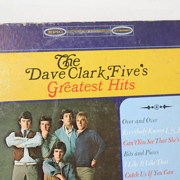 Dave Clark 5 Album | Vintage 60s Classic Rock & Roll | Classic Pop | British Invasion | Dave Clark 5 Greatest Hits Record / LP | Plays Great