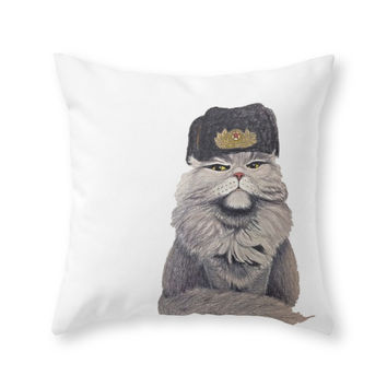 Society6 For Mother Russi Throw Pillow