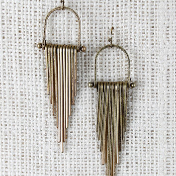 Cascading Bars Earrings