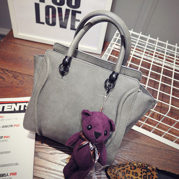Tina Handbag with Teddybear Keychain