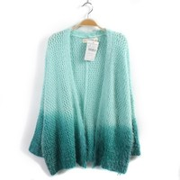 Knit Cardigan For Women Blue