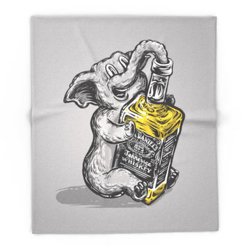 Society6 Drunk Elephant Blanket