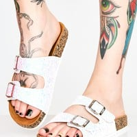 Sparkle Ur Way Glitter Sandals