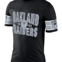 Nike Rewind Football (NFL Raiders) Men's T-Shirt