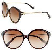 Women's Michael Kors Collection 58mm 'Mykonos' Retro Sunglasses