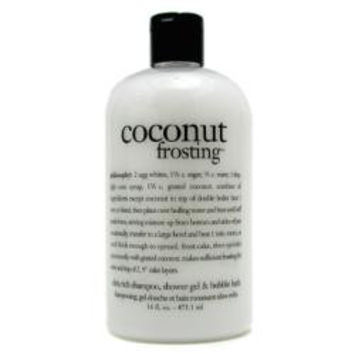 Philosophy Coconut Frosting - Shampoo, Shower Gel & Bubble Bath