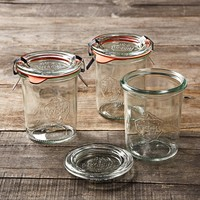 Weck Mini Mold Jars, Set of 12