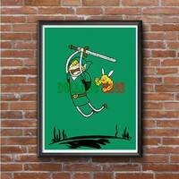 Adventure Time Zeld Photo Poster