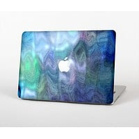 The Vivid Blue Sagging Painted Surface Skin Set for the Apple MacBook Pro 15""