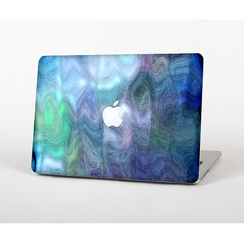 The Vivid Blue Sagging Painted Surface Skin Set for the Apple MacBook Air 13""