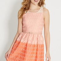 ombre teardrop dress | maurices