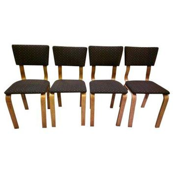Pre-owned Mid-Century Thonet Dining Chairs - Set of 4
