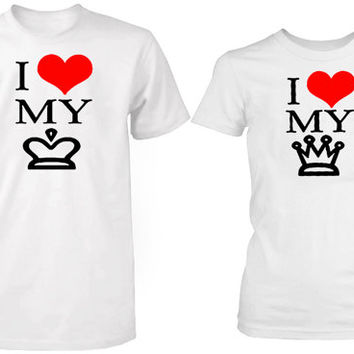 i love my king i love my queen tshirt couple ----- size S,M,L,XL,2L,3XL