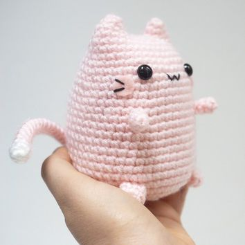 Cutest Chubby Kitty Amigurumi