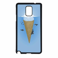 Hidden Part Of Icebergs Samsung Galaxy Note 4 Case