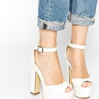 Truffle Collection Priya Platform Ankle Strap Heeled Sandals