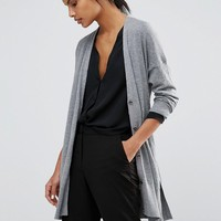 Warehouse Drawstring Waist Cardigan at asos.com