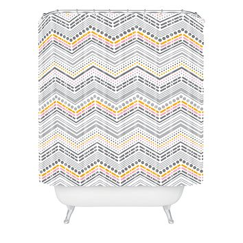 Heather Dutton Dash And Dot Neapolitan Shower Curtain