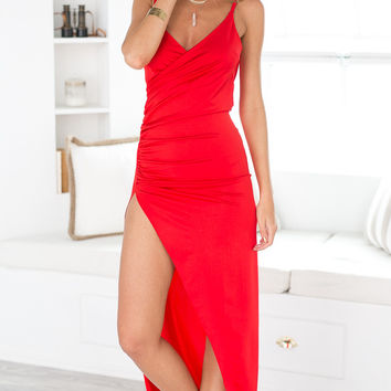 Adore You Dress (red)