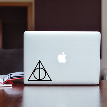 Harry Potter Deathly Hallows Decal (free shipping)