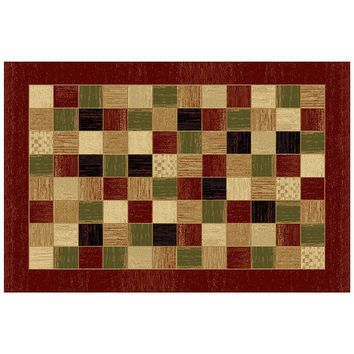 LA Rug Inc Sequoia Checker Rug