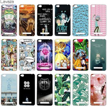 Lavaza Rick and Morty Bts Bangtan Boys Beauty And The Beast Banana Leaves Cover Case for Xiaomi Redmi 4A