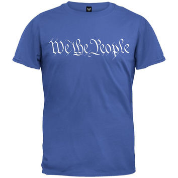 We The People Military Green T-Shirt