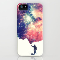 Painting the universe iPhone & iPod Case by Badbugs_art