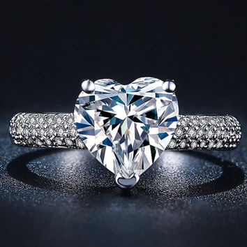 outlet store sale aeeb4 bd51b 3k diamond ring wanelo.co - brandkikahani.com afc0b05d2552