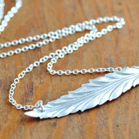 Feather Necklace by MegusAttic