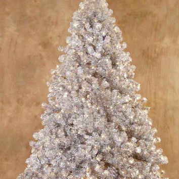 Artificial Christmas Tree - 9 Ft. - Laser Tinsel